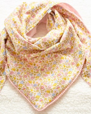 chèche, foulard, tour de cou liberty of london fait main créatrice artisan