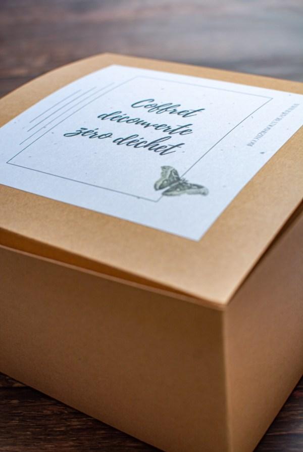 coffret cadeau noel anniversaire zero déchet ecoresponsable fait main artisanal créatrice