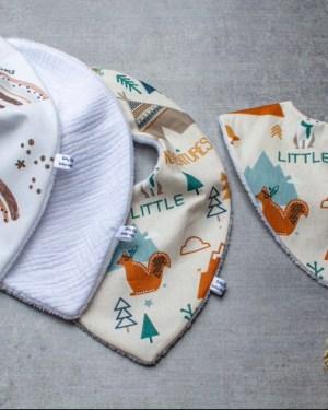 bavoir-bandana-mode-absorbant-bébé-creation-fait-main-artisanal