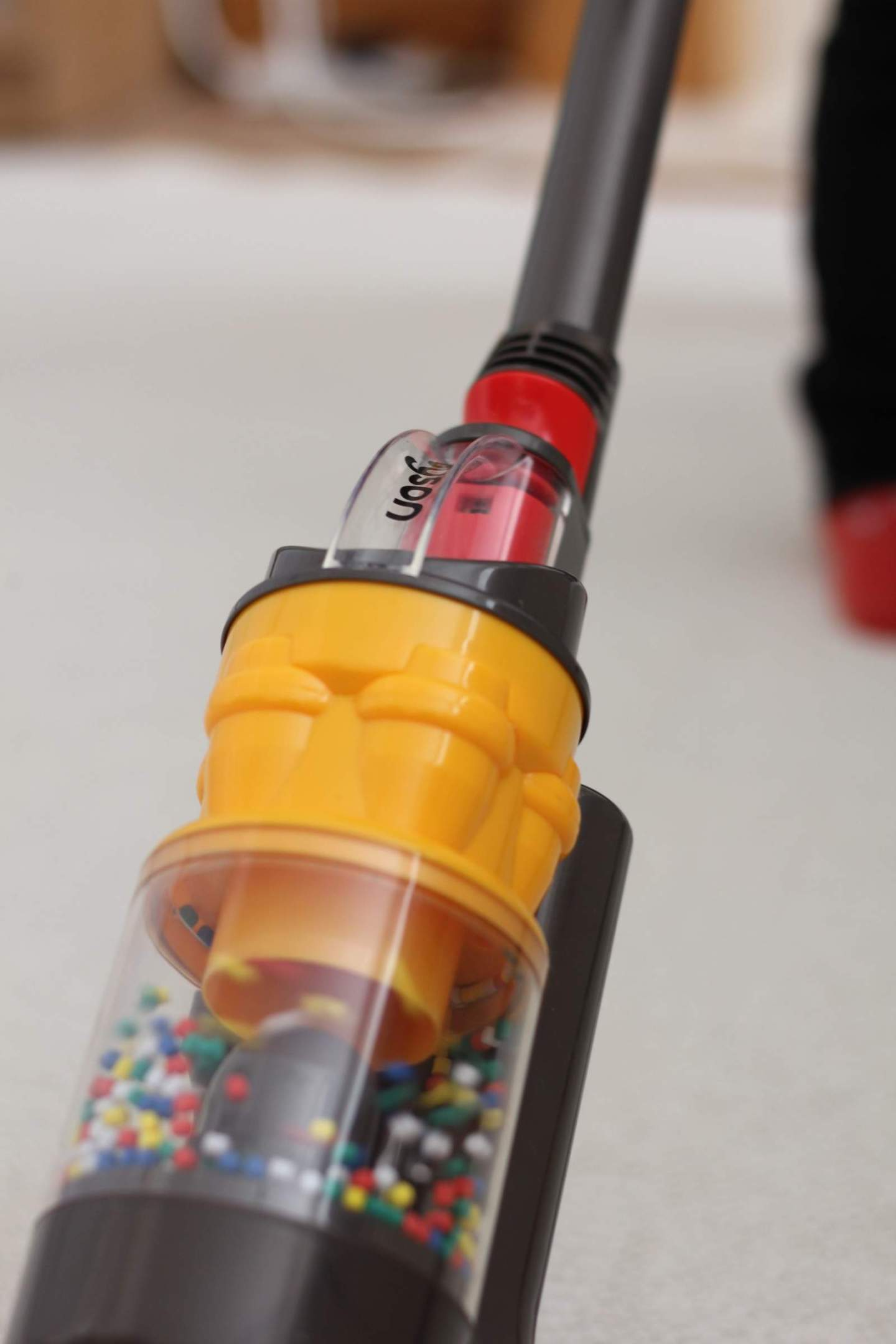 casdon role play pretend vacuum real suction