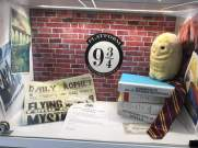 Harry Potter display in library The Word South Shields