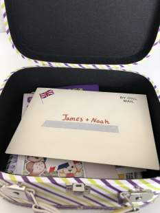 geo journey personalised letter
