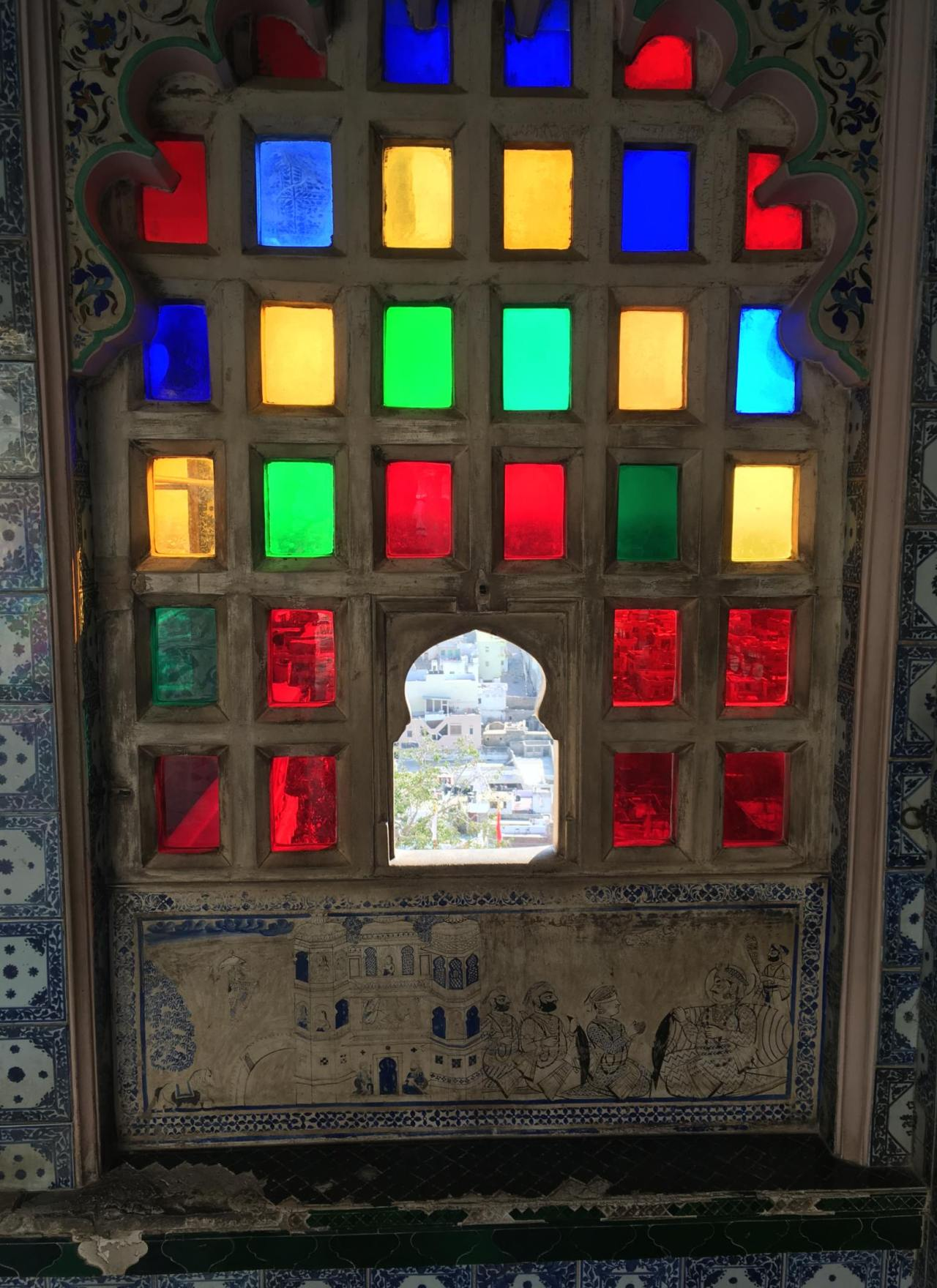 Postcards from India: Udaipur City Palace