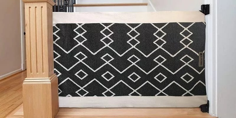 How To Make DIY Fabric Baby Gate Free Sewing Pattern
