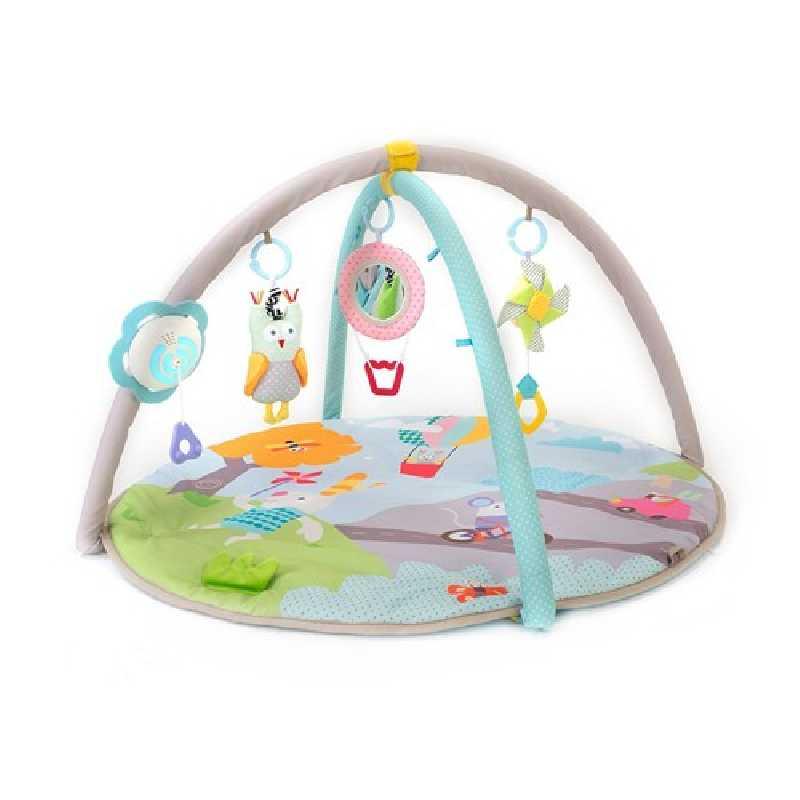 tapis d activite musical pour bebes nature taf toys