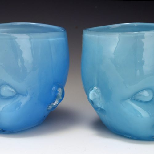 Baby Head Cup Lt Blue