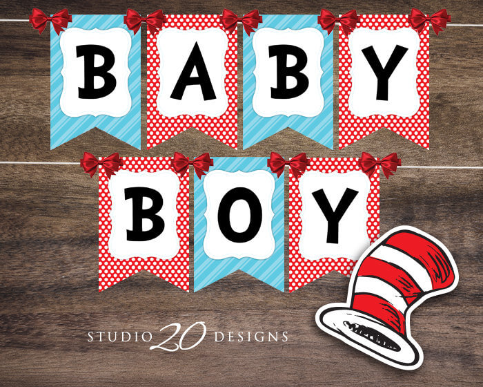 Lots Of Baby Shower Banner Ideas Decorations