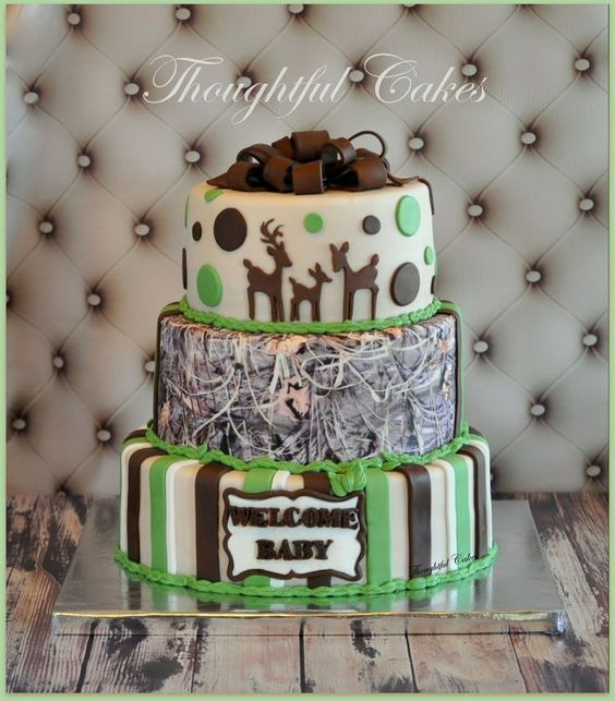 Camo Baby Shower Decorating Ideas