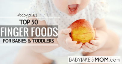 Top Finger Foods for Babies and Toddlers