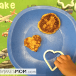 #babyjake's Breakfast Pancakes (made with chickpea flour)