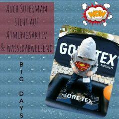 Superman steht auf atmungsaktiv und wasserabweisend