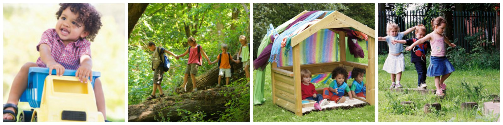 Outdoor kids Collage