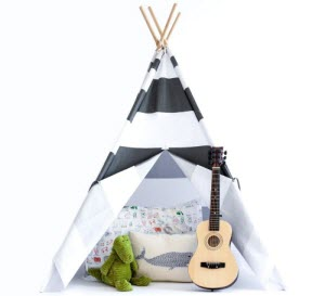 Kid Teepee tent  sc 1 st  Baby Kids Depot & Teepee Tent Activites for Kids - Baby Kids Depot