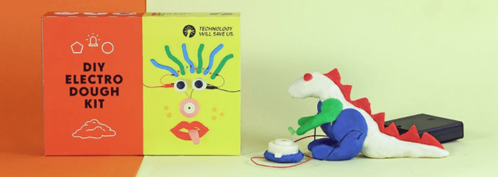 diy electric dough kit for children