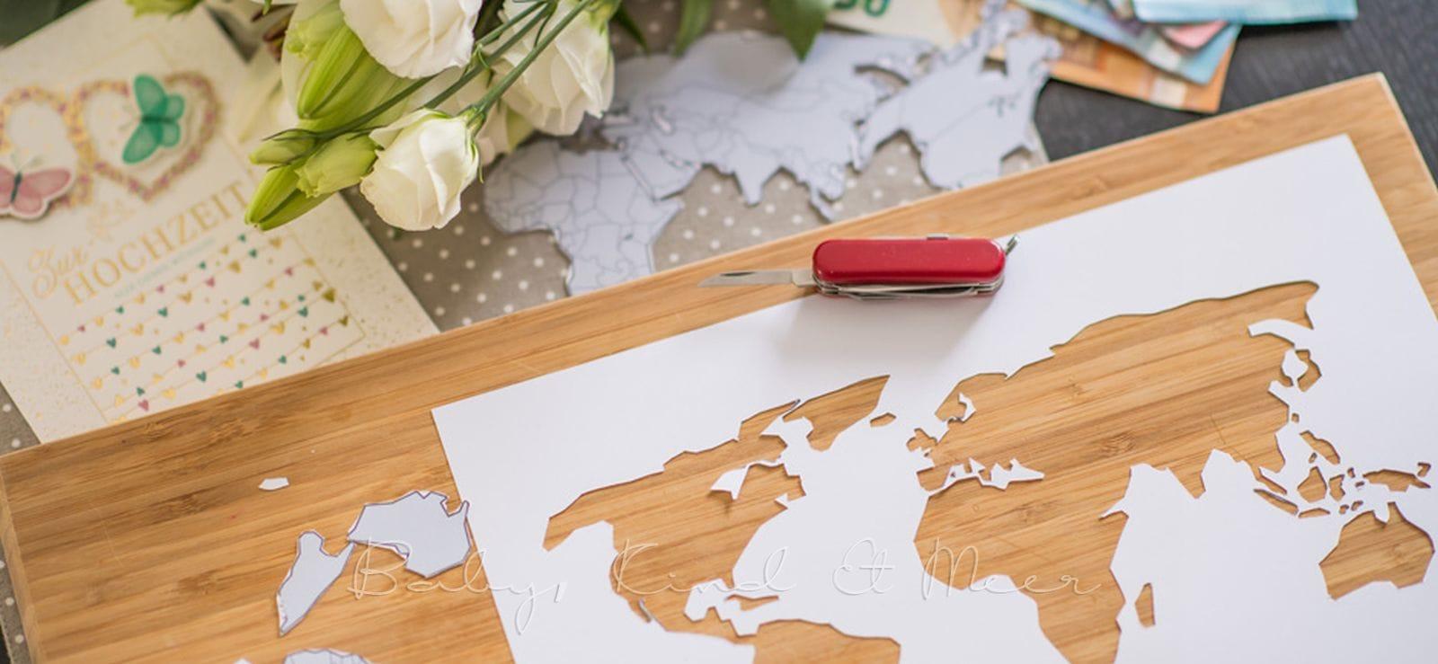 Diy Hochzeitsgeschenk Geld Kreativ Verpackt Hakelleben
