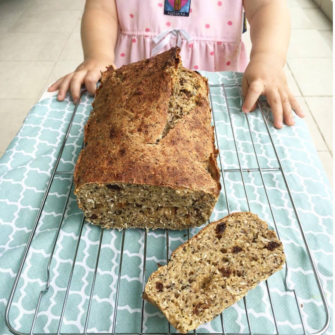 Ava's Healthy Breakfast Loaf