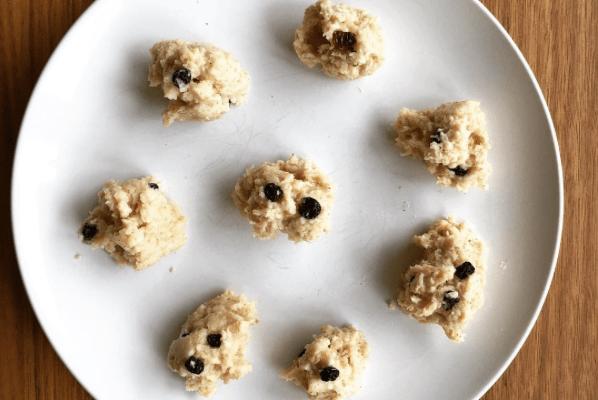 Almond Spiced Porridge Balls
