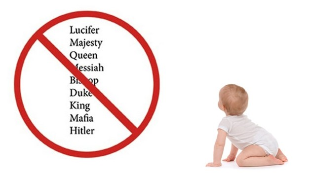 Surprising Baby Names that are Banned Around the World