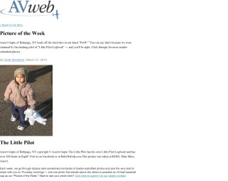 AV Web Picture of the Week