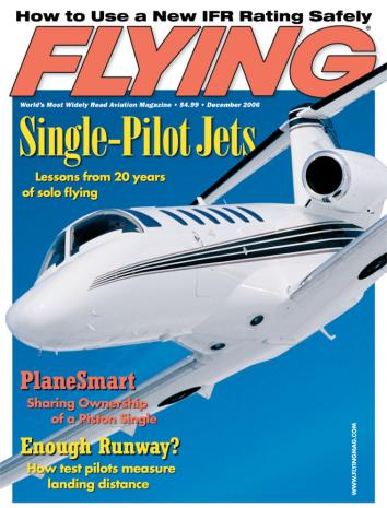 Flying Magazine, December 2006
