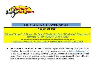 Johnny Jet Magazine, August 2007