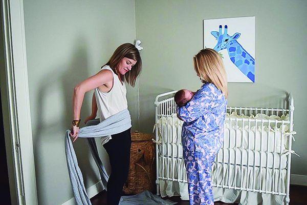 Postpartum Belly Binding