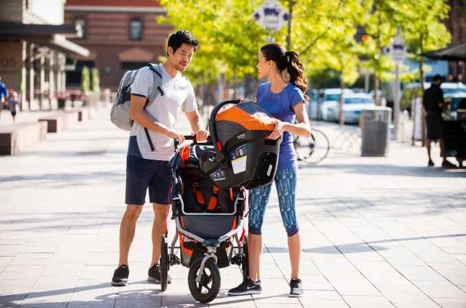 Shaping Up with a Jogging Stroller