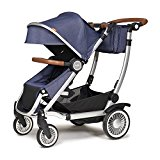 The Austlen Utility Stroller Accepts Two Infant Car Seats Its Compatible With Britax Chicco Maxi Cosi Nuna And Cybex Adapters