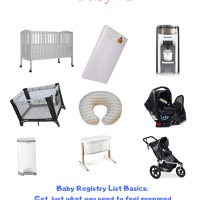 Baby Registry List: What to Buy for Baby #1