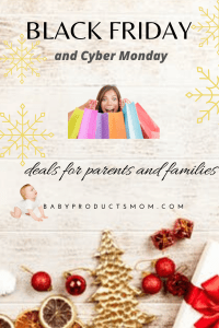 Black Friday deals for parents and families