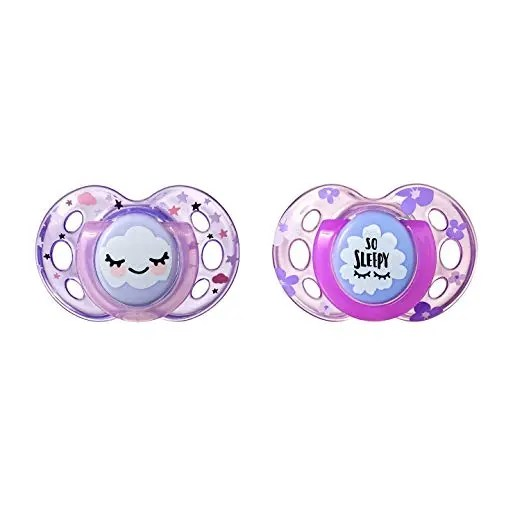 Tommee Tippee Dummy Soother Pacifier 18-36 Months night time