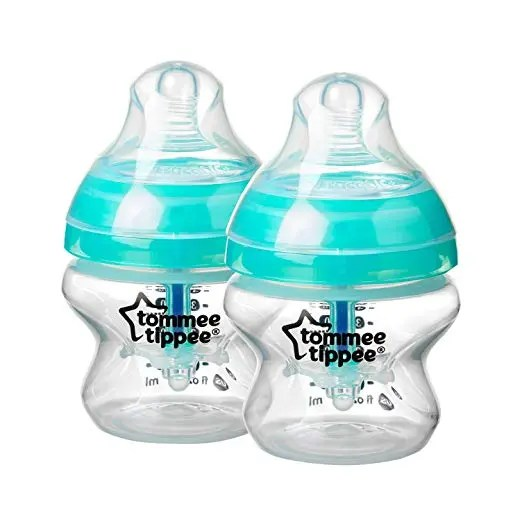 Tommee Tippee Anti-Colic Baby Bottle, 5 Ounce, 1 Count – Green