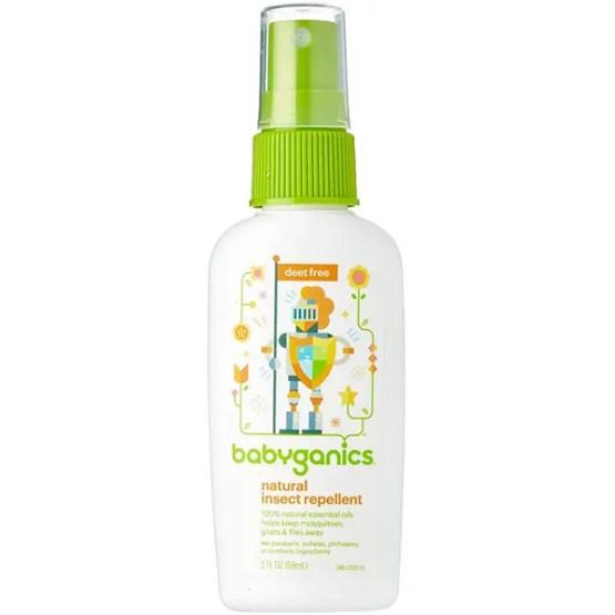 Babyganics Travel Size Bug Spray, 2oz