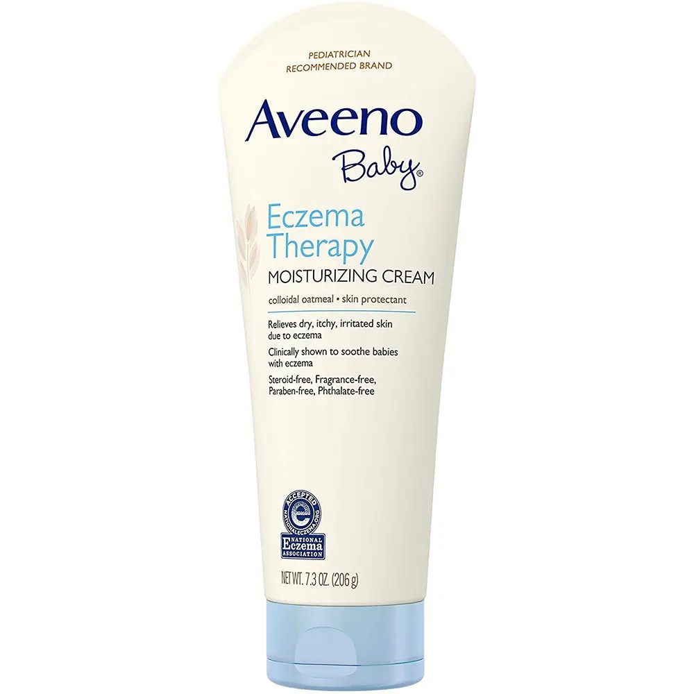 Aveeno Baby Eczema Therapy Moisturizing Cream, 7.3 oz