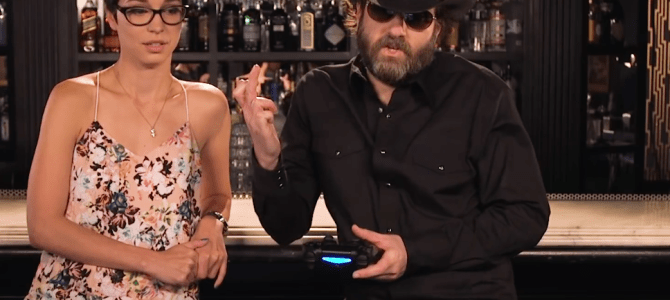 Watch Wheeler Walker Jr.'s hilarious interview at The Playboy Mansion
