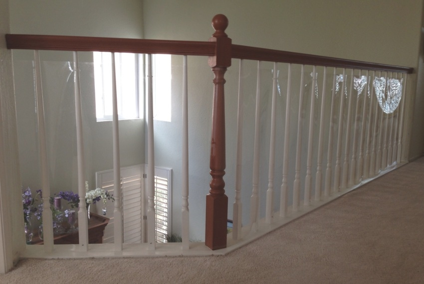 Baby Safety For Stair Railings Banisters And Balusters Baby | Bannister Rails For Stairs | Pipe | Build Stair | Deck | Outdoor | 5 Step