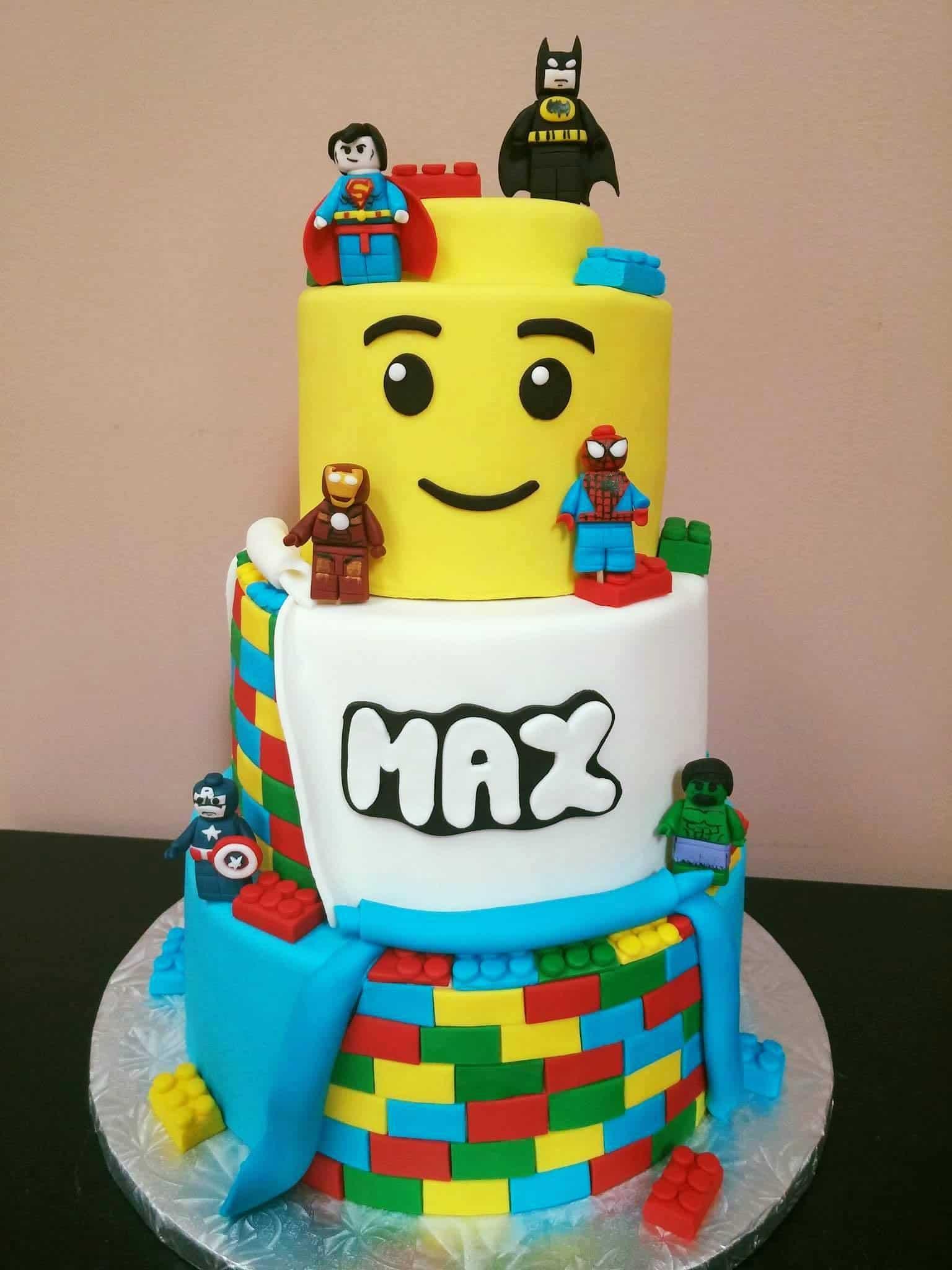 Lego Cake Ideas How To Make A Lego Birthday Cake