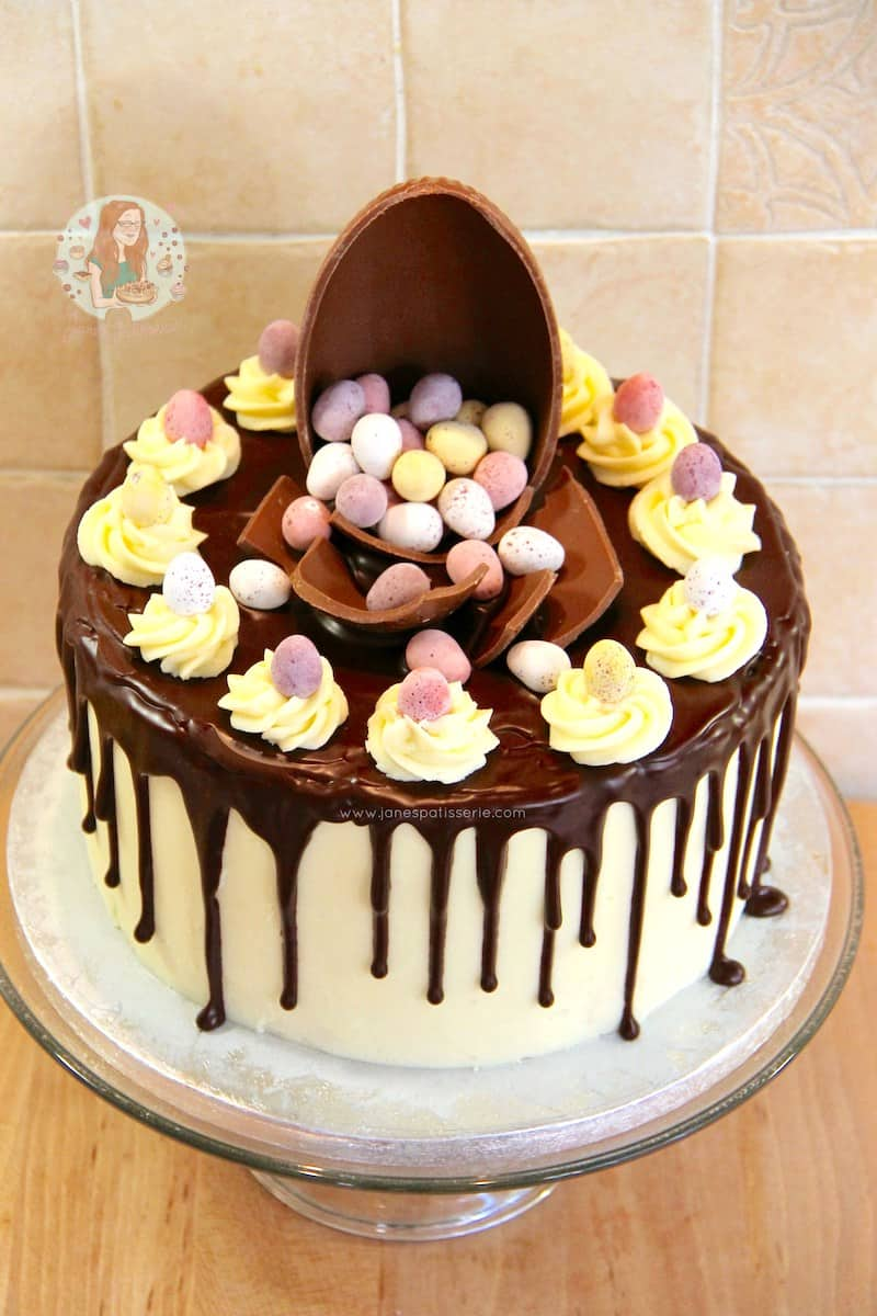 Easter Egg Cakes Ideas