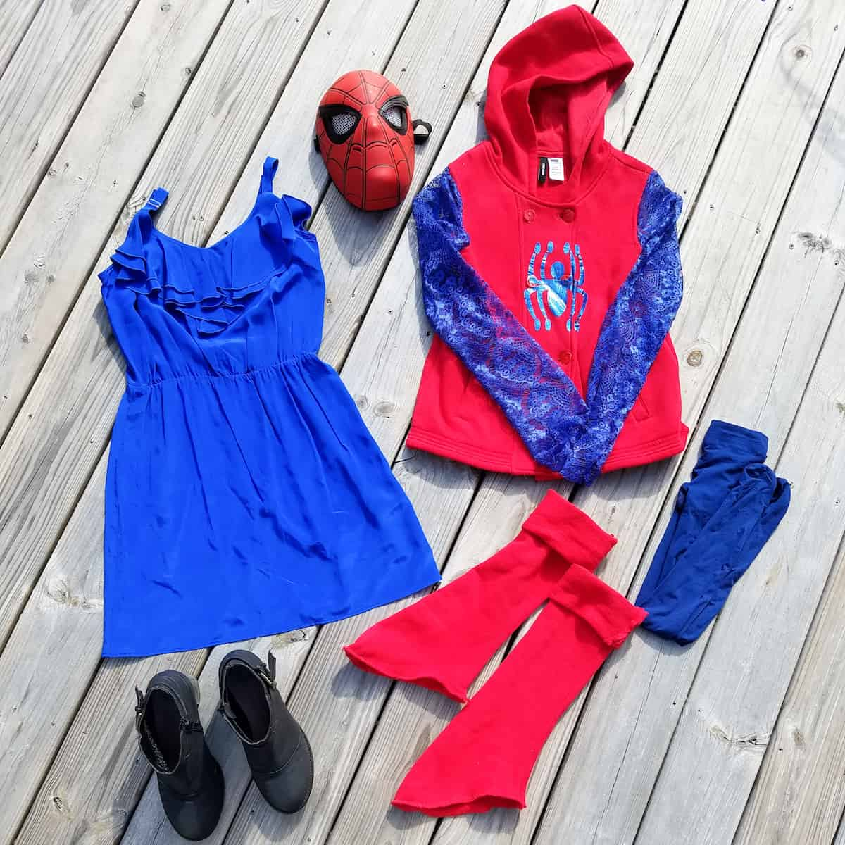 Diy How To Make The Cutest Spider Man Costume For Girls
