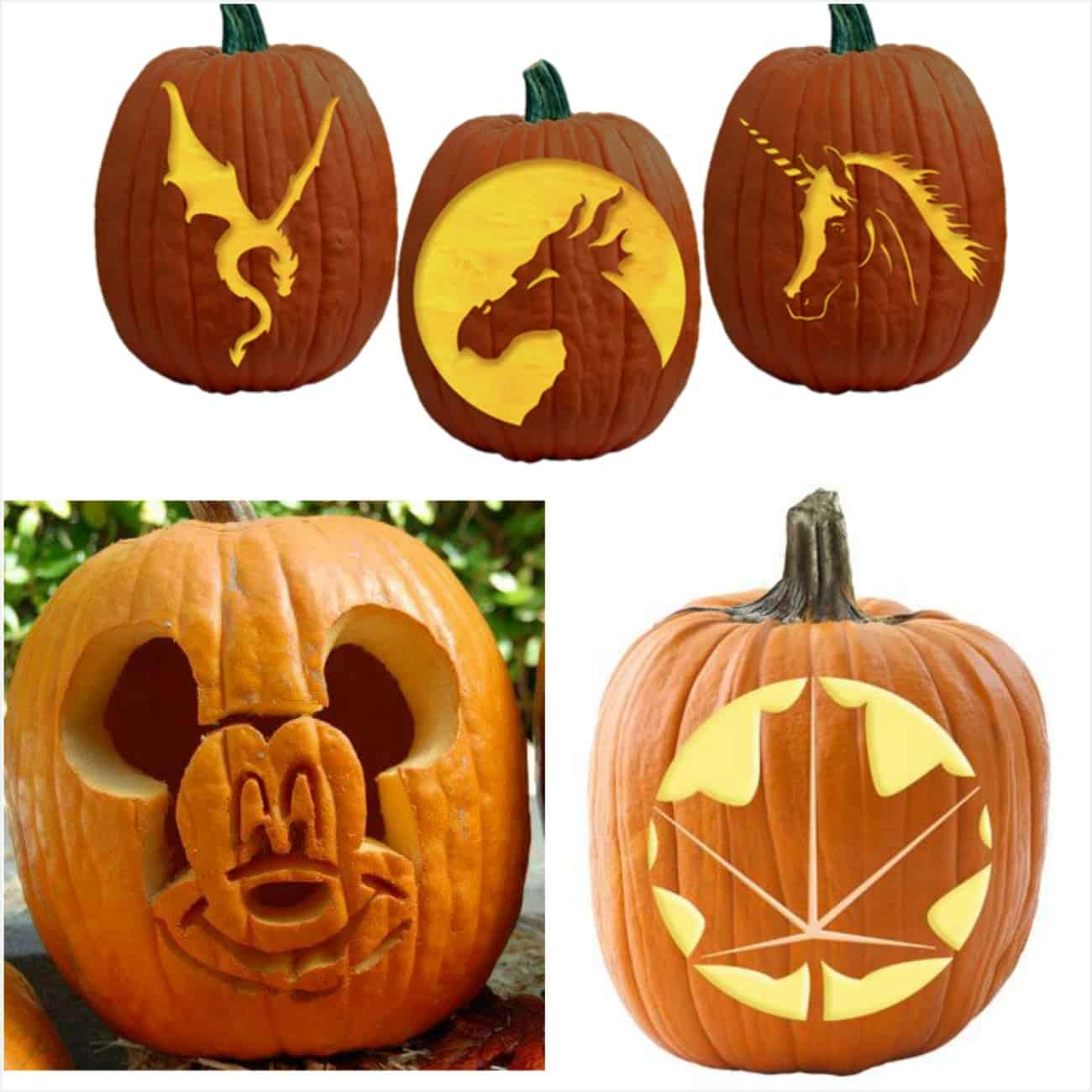 700 Free Pumpkin Carving Patterns And Printable Pumpkin