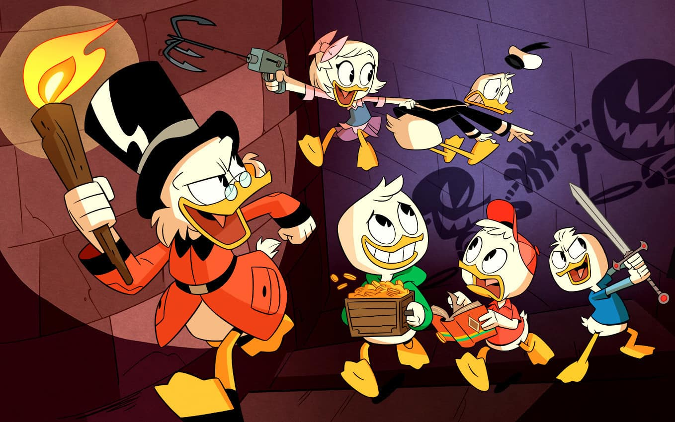Ducktales Coloring Pages And Activity Sheets Free Printables