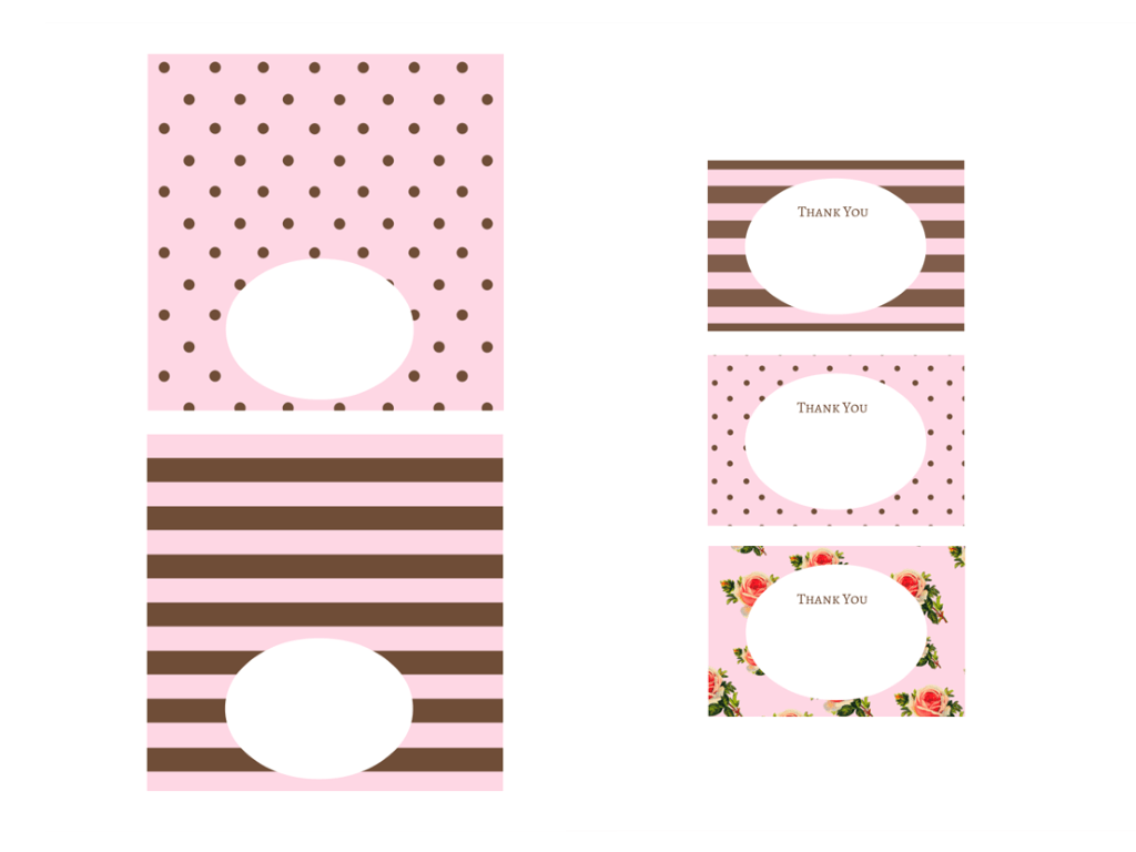 Free Pink Amp Chocolate Baby Shower Printables