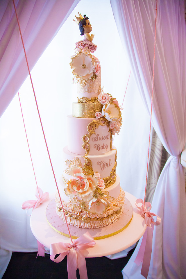 Pink And Gold Tutu Cute Baby Shower Baby Shower Ideas