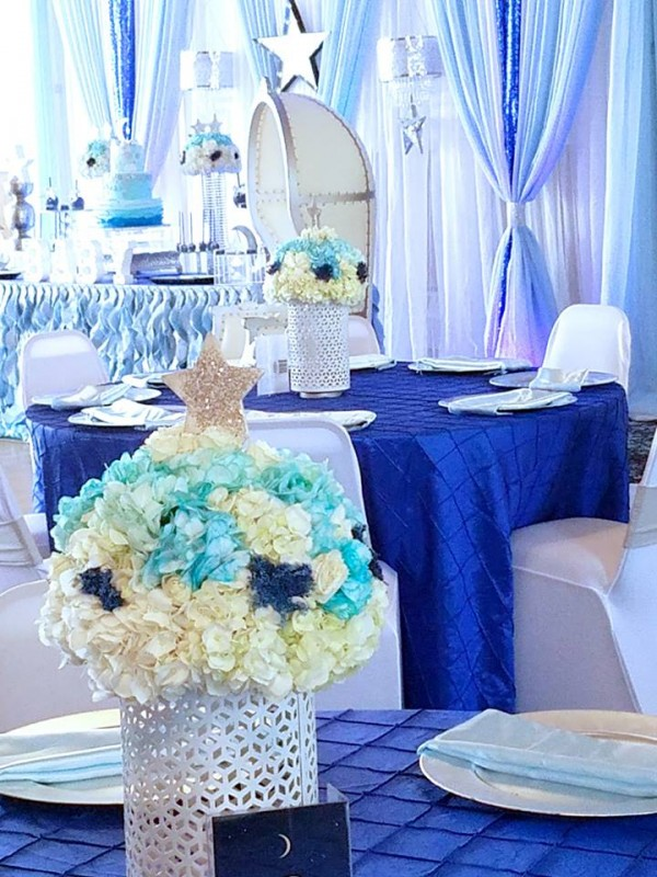 Starry Night Baby Shower Baby Shower Ideas Themes Games