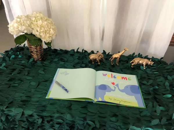 Safari Themed Baby Shower Invitations