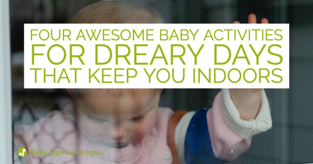 Baby Activities For Cold and Snowy Days