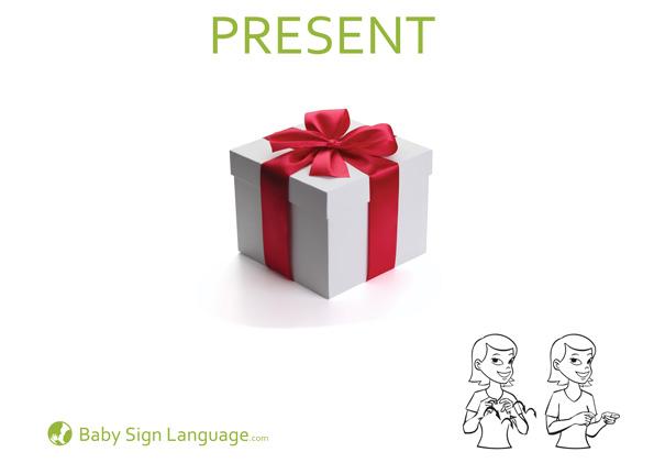 Present Flash Card