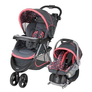 Baby Trend Nexton Travel System, Coral Floral Reviews