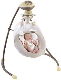 Fisher-Price My little Snugapuppy Cradle and baby swing