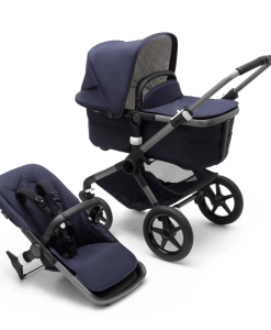 Bugaboo Fox 3 carrycot and pushchair seat - Dark Navy Premium Collection